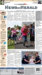 Front of Perkasie News-Herald designed using free tools, including Scribus.